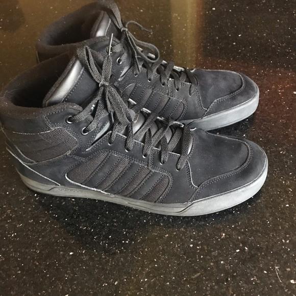Adidas Neo Label Ortholite men 12 BLK mid sneaker